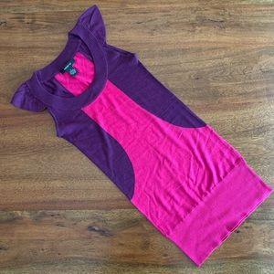 Arden B Silk Cashmere Mini Dress